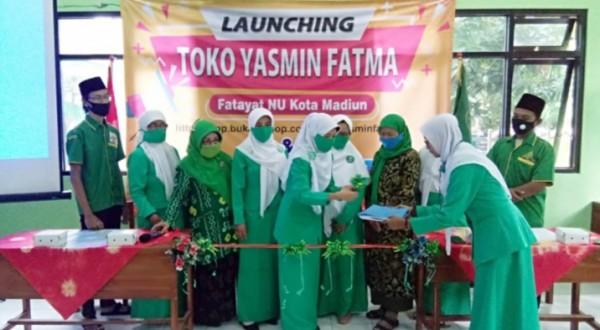 PC Fatayat NU Kota Madiun Launching Toko Yasmin Fatma