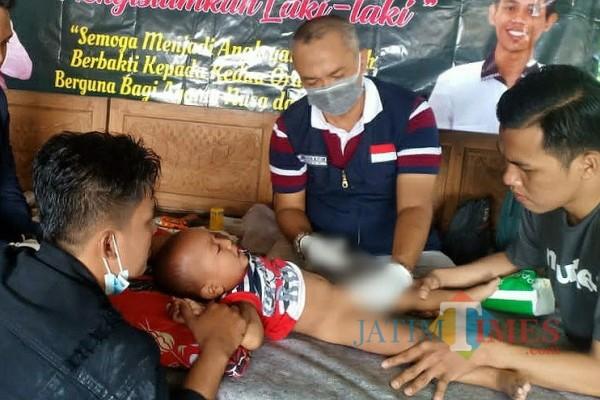 Terapkan Protokol Kesehatan, PSBB bersama JCP Kembali Gelar Khitanan Massal