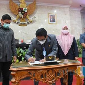 DPRD Setujui Tiga Raperda Usulan Pemkot Kediri