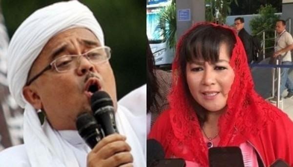 FPI Sebut Hasil Swab Rizieq Negatif, Dewi Tanjung: Kenapa Harus Ngumpet?
