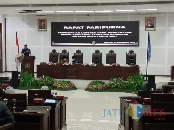 Dewan Setujui Proyeksi APBD Kota Malang 2021 Senilai Rp 2,042 Triliun
