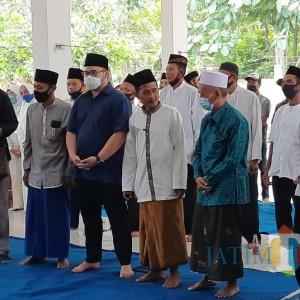 Cabup Kediri Dhito Dapat Dukungan Kiai dan Bu Nyai Se-Kecamatan Gurah