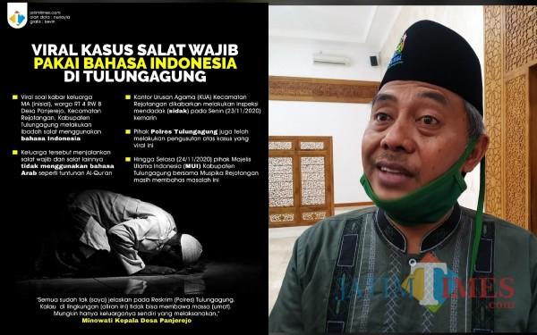 NU Tegaskan Salat Bahasa Indonesia Tidak Sah, MUI Diminta Lakukan Pembinaan