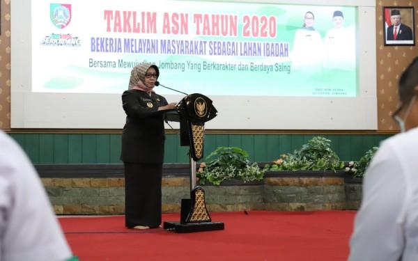 Bupati Jombang Mundjidah Wahab. (Istimewa)