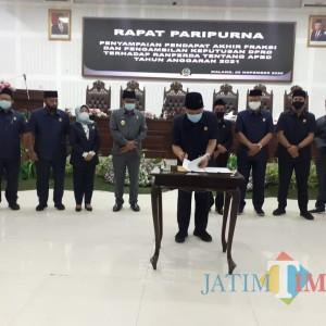 Dok! APBD Kota Malang Tahun 2021 Disahkan, OPD Diminta Gerak Cepat