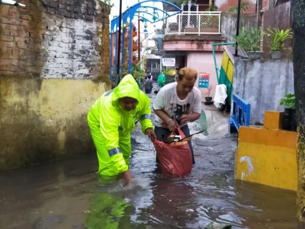 Salah satu kawasan di Kota Malang yang sempat dilanda banjir atau genangan air (Dokumentasi MalangTIMES).