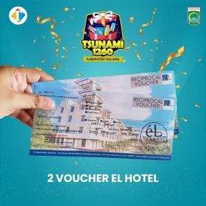 "Yuk Ikutan Giveaway ""Tsunami 1.260"" Kabupaten Malang, Dapatkan 2 Voucher Menginap di eL Hotel"