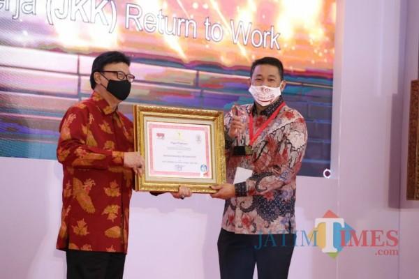 Implementasi JKK-RTW BPJAMSOSTEK Kembali Mendapatkan Penghargaan