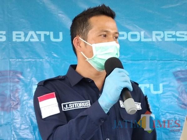 Kasatreskrim Polres Batu AKP Jeifson Sitorus.