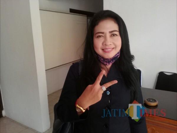 Ratih Nurhayati, anggota Fraksi Nasdem DPRD Banyuwangi.  (Nurhadi Banyuwangi Jatim Times)