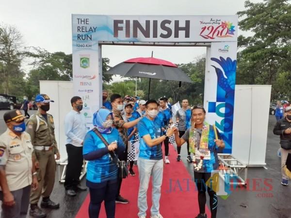 The Relay Run 1.260 Tercatat di MURI, Pemkab Malang Buka Opsi Ajang Bersepeda di 2021