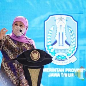 Sempat Bertemu Bupati Situbondo, Hasil Swab Rutin Gubernur Jatim Khofifah Negatif