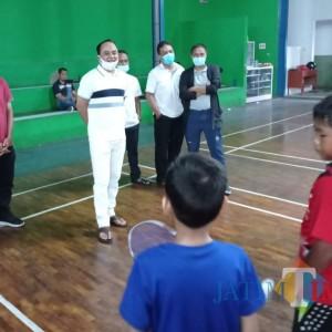 Syukur Mursid (Heri Mursid), Mantan Ketua REI Malang Pertahankan Prestasi Atlet dengan Turnamen