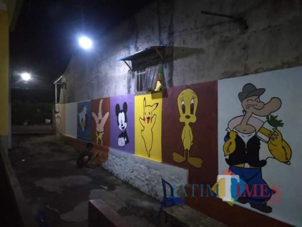 Kikis Kesan Seram, Gang Keramat Bakalan Krajan Dihias Tokoh Kartun