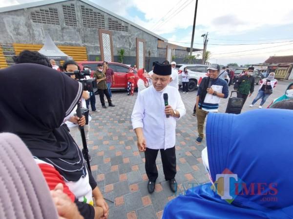 Bupati Malang HM. Sanusi yang saat ini sedang menjalani masa cuti kampanye pada tahapan Pilkada Kabupaten Malang 2020. (Foto: Tubagus Achmad/MalangTimes)
