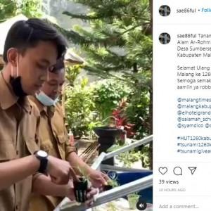 Edukatif, Peserta Tsunami 1260 Kabupaten Malang Ajarkan Siswa Tentang Tanaman Hidroponik