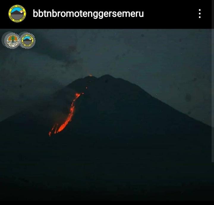 Masih Status Waspada Pendakian Gunung Semeru Dibatasi Surabaya Times
