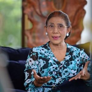 "Susi Pudjiastuti Mendadak Respon Cuitan Lawas Jokowi Soal ""Laut Masa Depan Indonesia"""