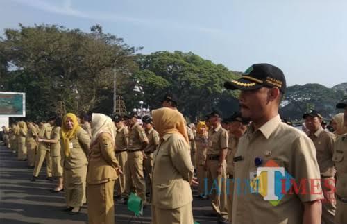 ASN di lingkungan Pemerintah Kota Malang (Dokumentasi MalangTIMES).