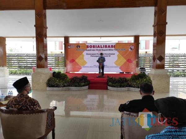 Pemkab Blitar dan KPU Gelar Sosialisasi, Ajak Masyarakat Sukseskan Pilkada