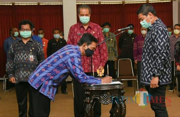 Wali Kota Kediri Lantik 132 Pejabat Jelang Akhir Tahun