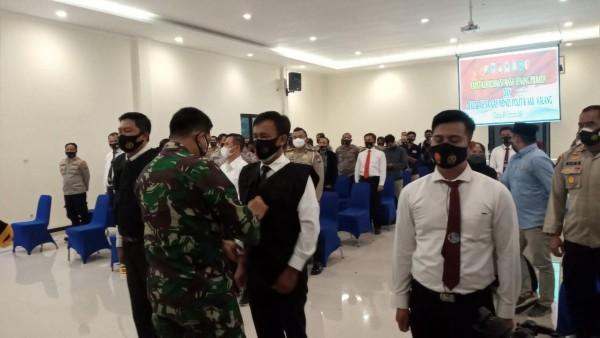 Bentuk Satgas Money Politik, Polres Malang dan Kodim 0818 Tindak Tegas Kampanye Terselubung