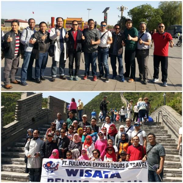 Eri Cahyadi ketika berlibur bersama para ASN Pemkot Surabaya lainnya
