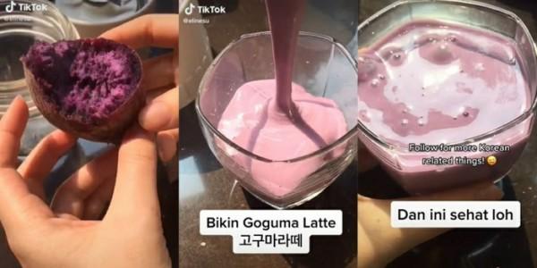 """Viral di Korea, Yuk Cobain Resep """"Goguma Latte"""" Susu Ubi yang Enak dan Menyehatkan"""