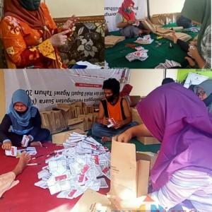 KPU Ngawi Pastikan Kebutuhan Surat Suara Aman