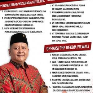 Muncul Meme Fakta Dizalimi, WS: Sudahlah Biarkan Saya Fokus di Partai