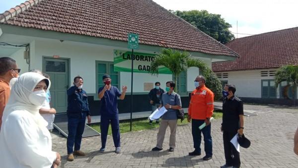 Peninjauan kesiapan RS Lapangan Malang (Istimewa).