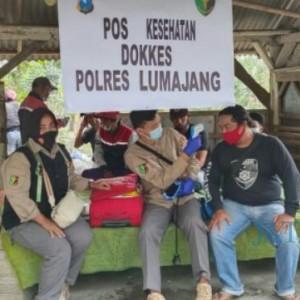 Tanggap Bencana Gunung Semeru Meletus, Polres Lumajang Terjunkan 391 Petugas