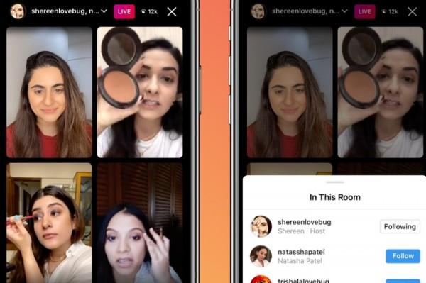 """Fitur """"Live Rooms"""" Instagram Kini Bisa Siaran Langsung hingga 4 Orang, Begini Caranya"""