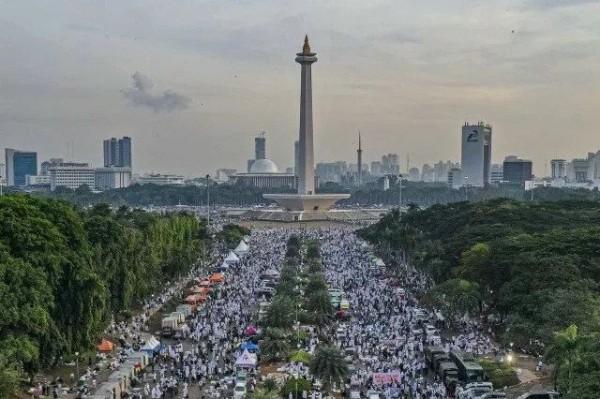 Reuni 212 (Foto: Pikiran Rakyat)
