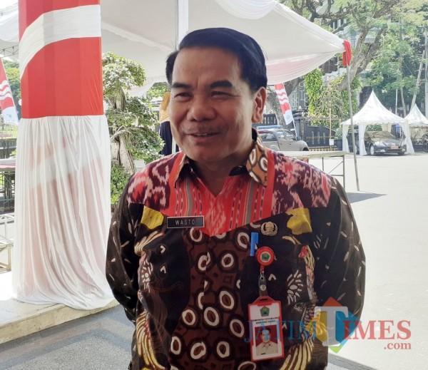 Sekretaris Daerah (Sekda) Kota Malang, Wasto. (Arifina Cahyanti Firdausi/MalangTIMES).