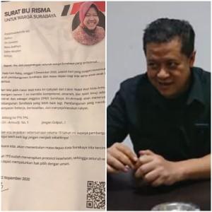 Tri Rismaharini Kirim Surat ke Warga, Mas Seno: Sindrom Panic Attack
