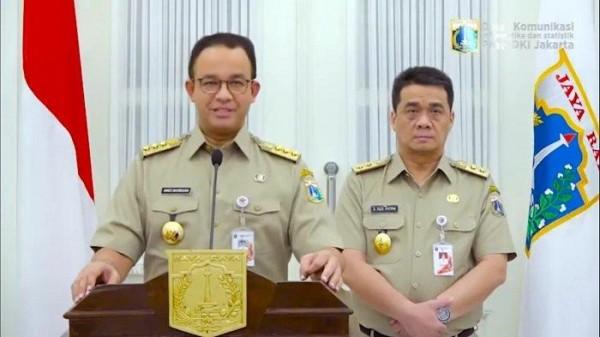 Cerita Anies Baswedan dan Riza Patria Tetap Pimpin Jakarta dalam Kondisi Positif Covid-19
