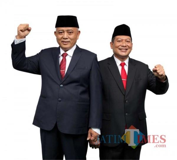 Calon Bupati dan Wakil Bupati Malang dari pasangan SanDi (Sanusi-Didik Gatoto Subroto) nomor urut satu (Foto : Istimewa)