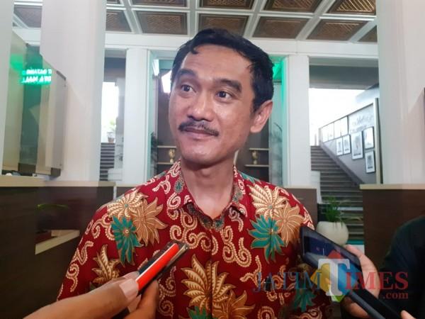 Kabag Humas Pemkot Malang, Nur Widianto. (Arifina Cahyanti Firdausi/MalangTIMES).
