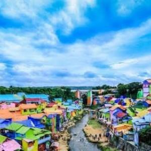 Berwisata Aman dan Nyaman di Kota Malang, Kampung Tematik Sudah Terapkan Protokol Kesehata