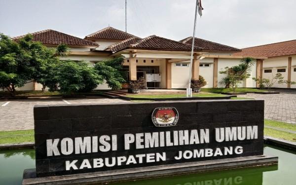 Kantor KPU Kabupaten Jombang. (Istimewa)
