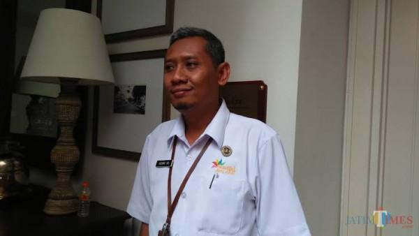 Kasi Pengembangan Ekonomi Kreatif Disporapar Kota Malang Agung H. Buana (Dokumentasi MalangTIMES).