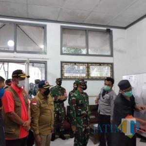 Ke Kota Malang, Kepala BNBP Tinjau Kesiapan RS Lapangan