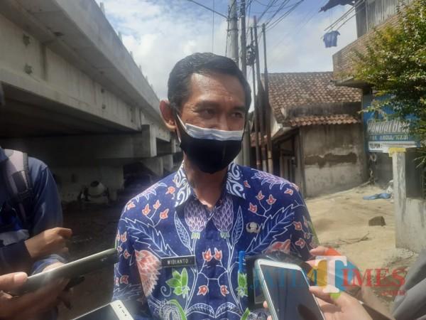 Kabag Humas Pemkot Malang Nur Widianto. (Arifina Cahyanti Firdausi/MalangTIMES).