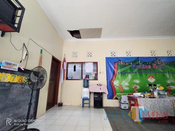 Jebol TK lewat Atap, Maling Bertubuh Tinggi Malah Habiskan  Susu 5 Kotak