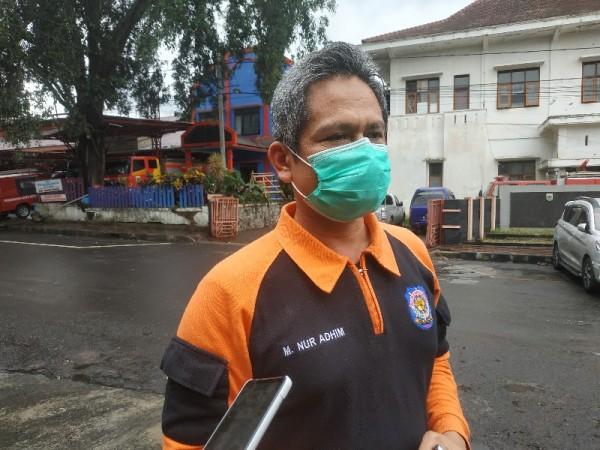 Kasat Pol PP, Kota Batu M. Nur Adhim saat ditemui, Jumat (4/12/2020)