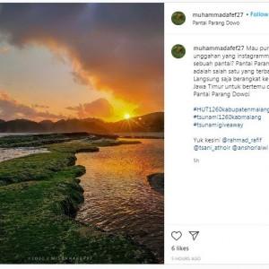 Makin Antusias, Peserta Tsunami 1.260 Kirim 3 Foto Keren Tempat Wisata Kabupaten Malang