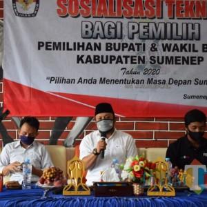 Gandeng Jurnalis Arya Wiraraja, KPU Sumenep Gelar Sosialisasi Pendidikan Pemilih