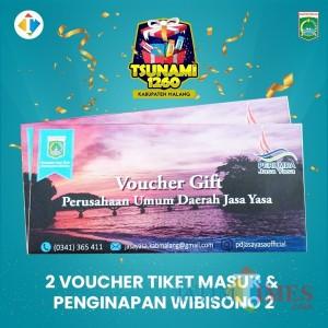 Ikut Giveaway Tsunami 1.260 Kabupaten Malang, 2 Voucher Penginapan Wibisono 2 Menanti