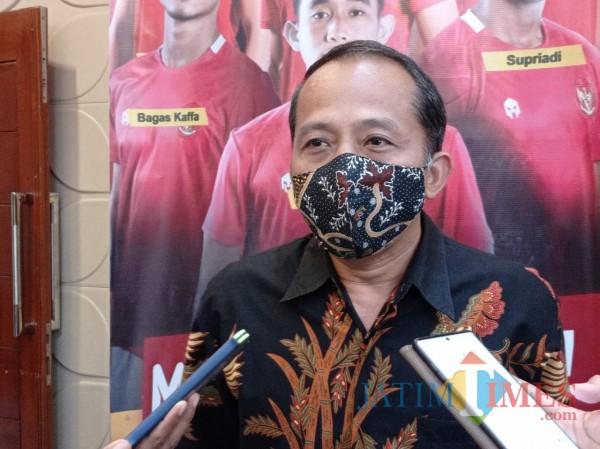 Kabid Olahraga Disporapar Kota Malang Wahyu Setyawan (Hendra Saputra)